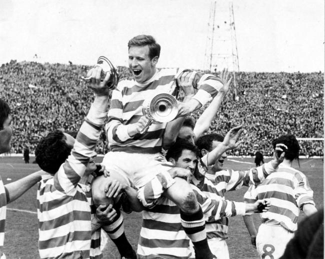 Billy McNeill of Celtic