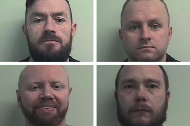 'Lyons crime mob' jailed for 104 years after being convicted of savage gangland murder plot