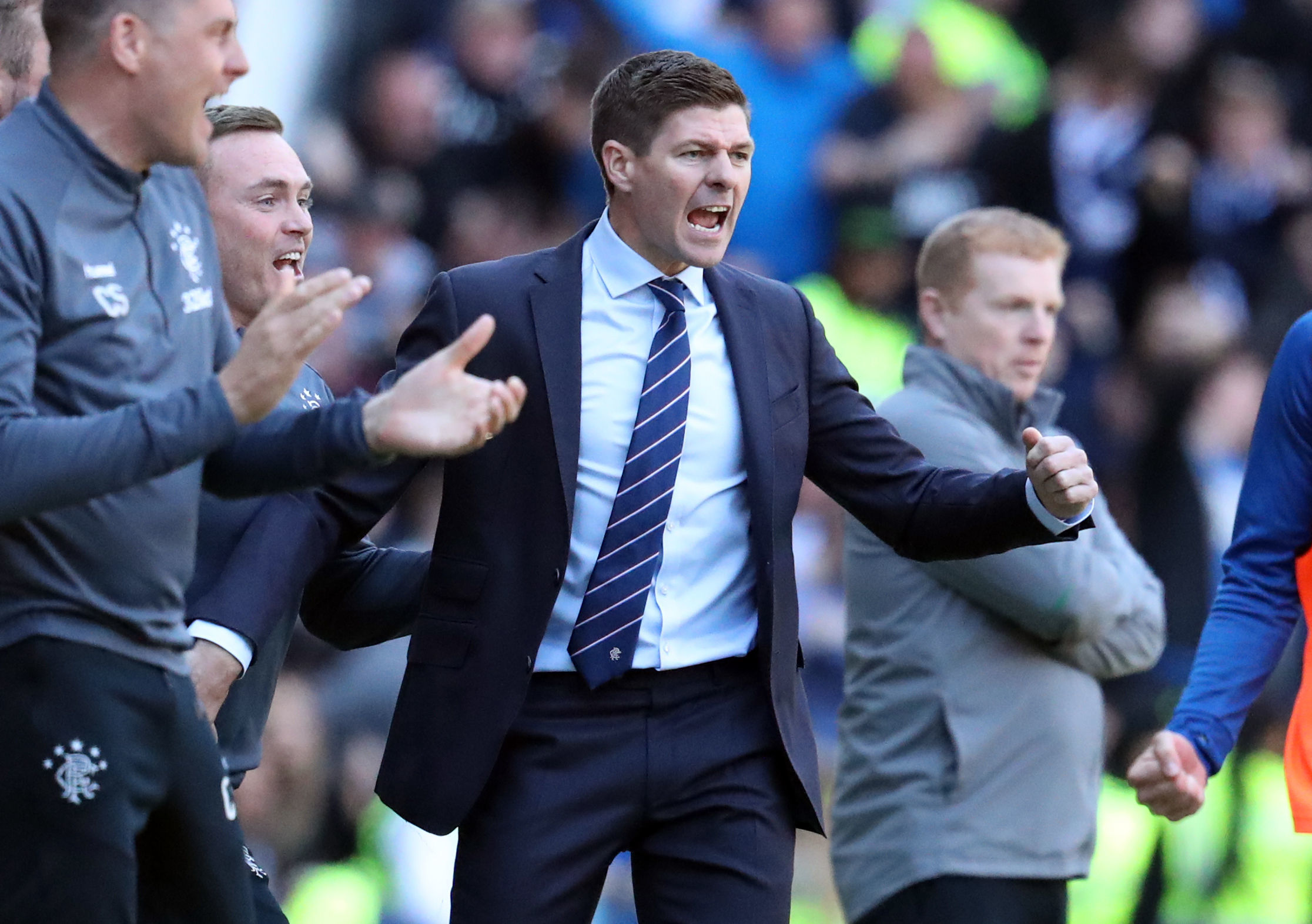 Steven Gerrard has won nothing for Rangers but has shown himself to be a capable manager