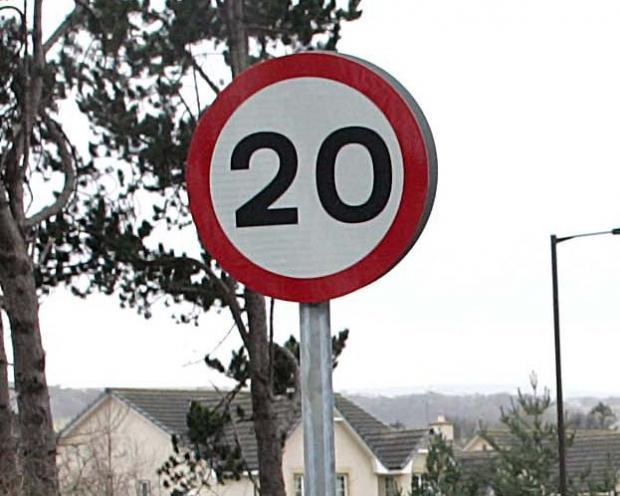 20mph speed limits could be rolled out