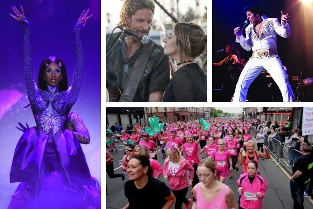 Werq the World, A Star Is Born, The Elvis Years and Race for Life