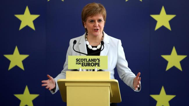 Nicola Sturgeon: I'll speed up IndyRef2 plans if Theresa May goes for hard Brexit