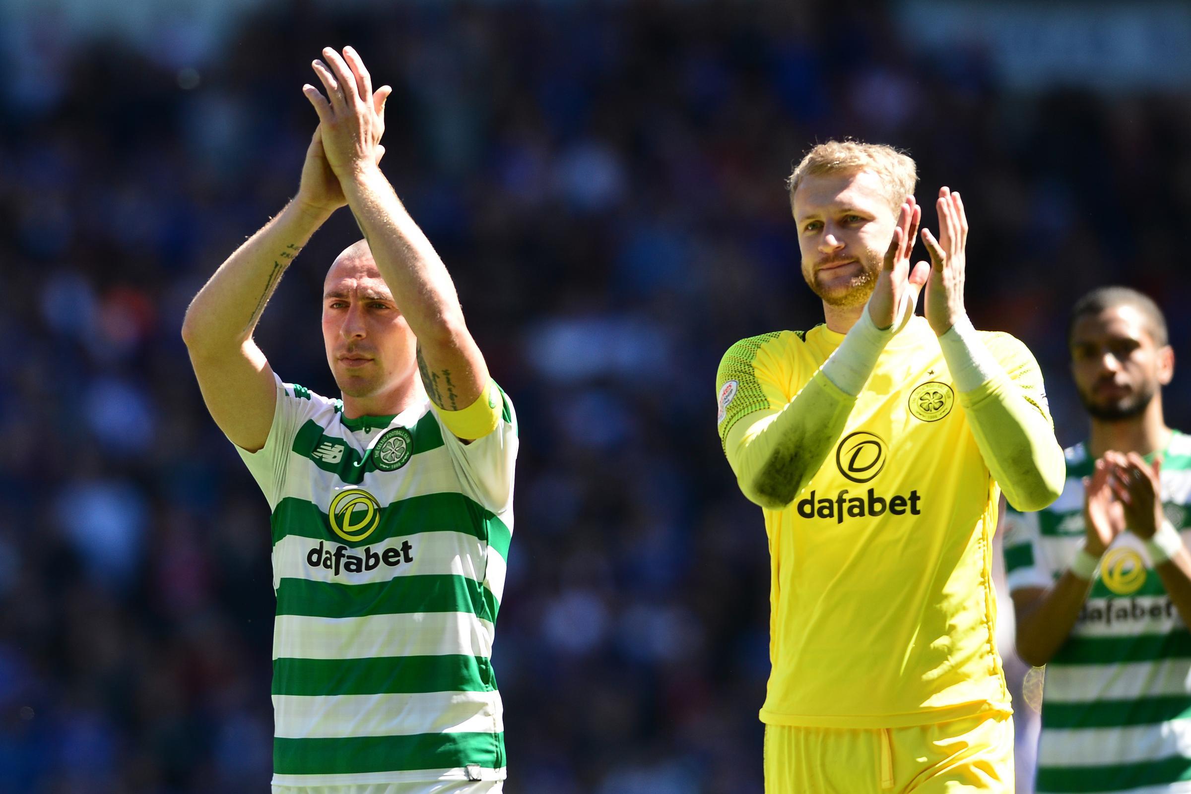Scott Bain: 'Rangers used to celebrate winning trophies'