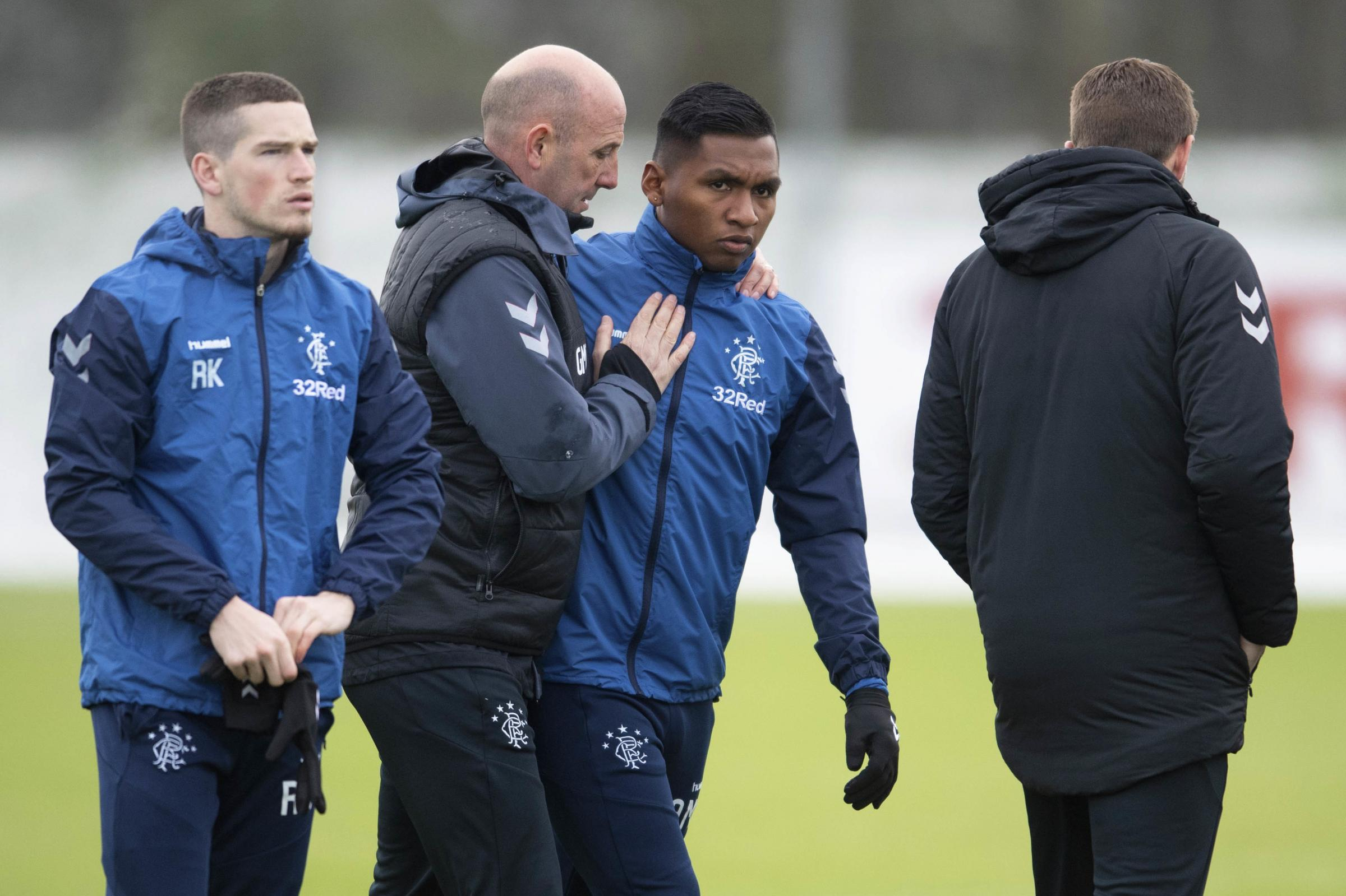 Gary McAllister: We want Alfredo Morelos to remain at Rangers and conquer his demons like Luis Suarez