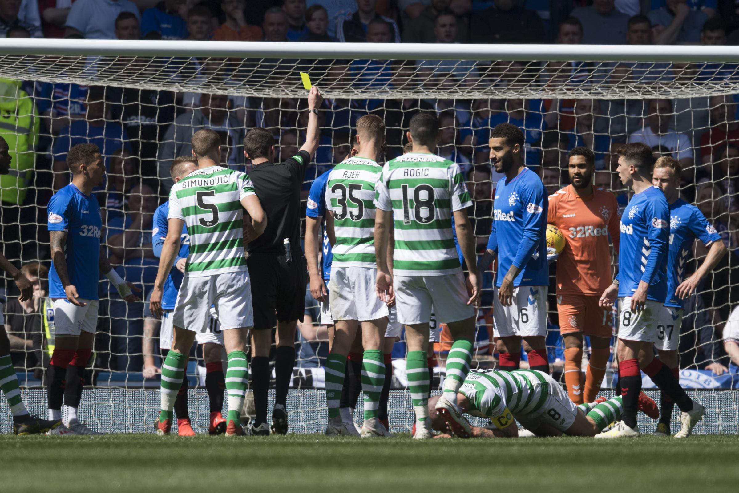 Celtic brand decision to clear Rangers defender Jon Flanagan for Scott Brown elbow a