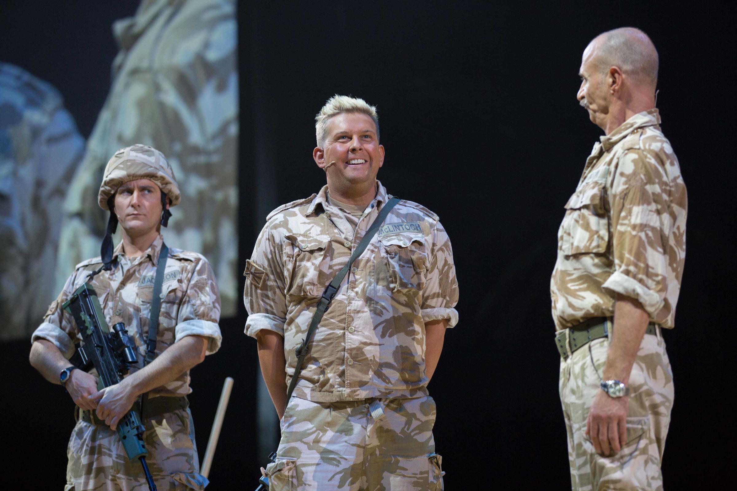 Gary Tank Commander to return to Snow White panto at Glasgow's SEC