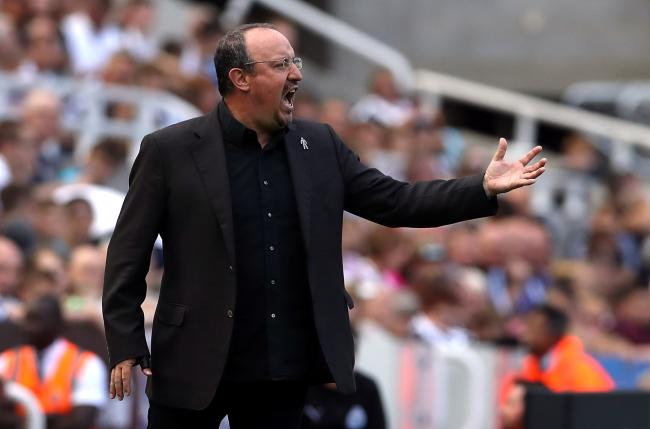 Celtic target Rafa Benitez has reportedly decided to stay at Newcastle PHOTO: PA