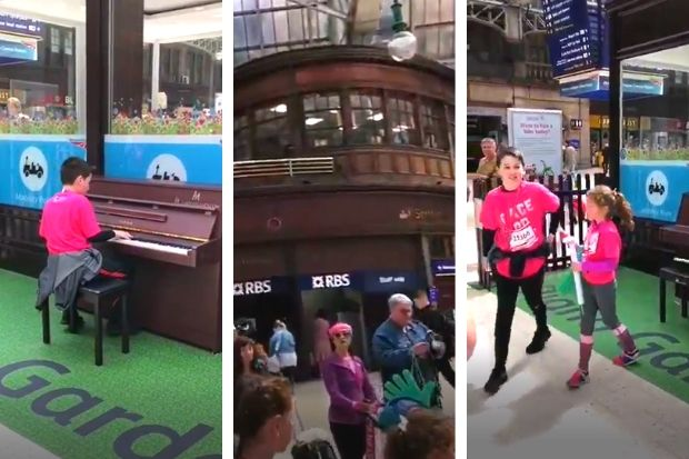 Boy, 13, stuns Twitter as he belts out Bohemian Rhapsody on Central Station piano