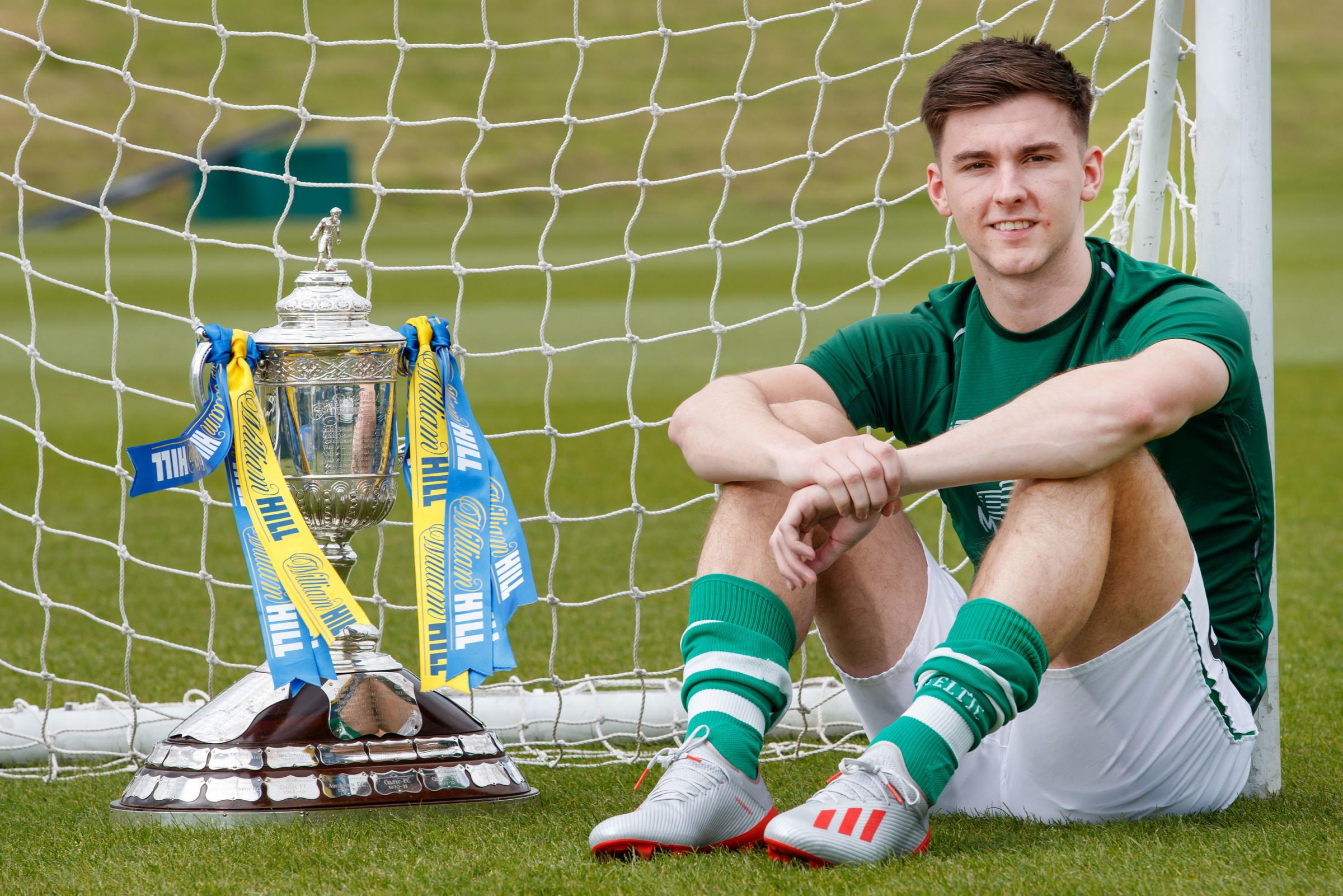 Kieran Tierney will ignore his constant pain to face Hearts in the Scottish Cup final