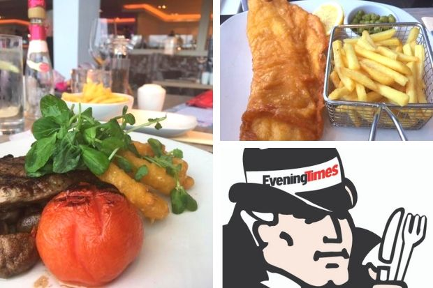 Restaurant review: Swanky place outside of Glasgow is a winner for us