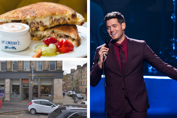 Michael Buble raves about Glasgow's Bread Meats Bread at SSE Hydro show