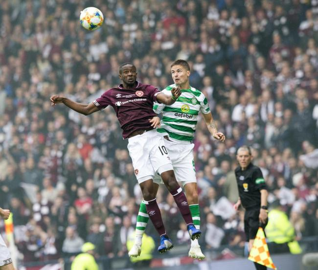 Arnaud Djoum may have played his last game for Hearts.