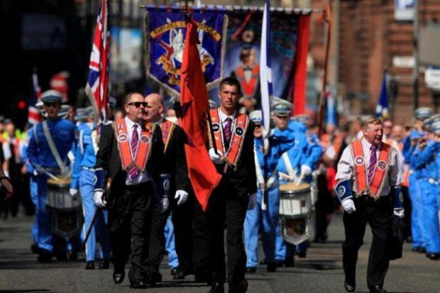 Let's talk about it: Orange marching groups in talks plea to protesters over parades