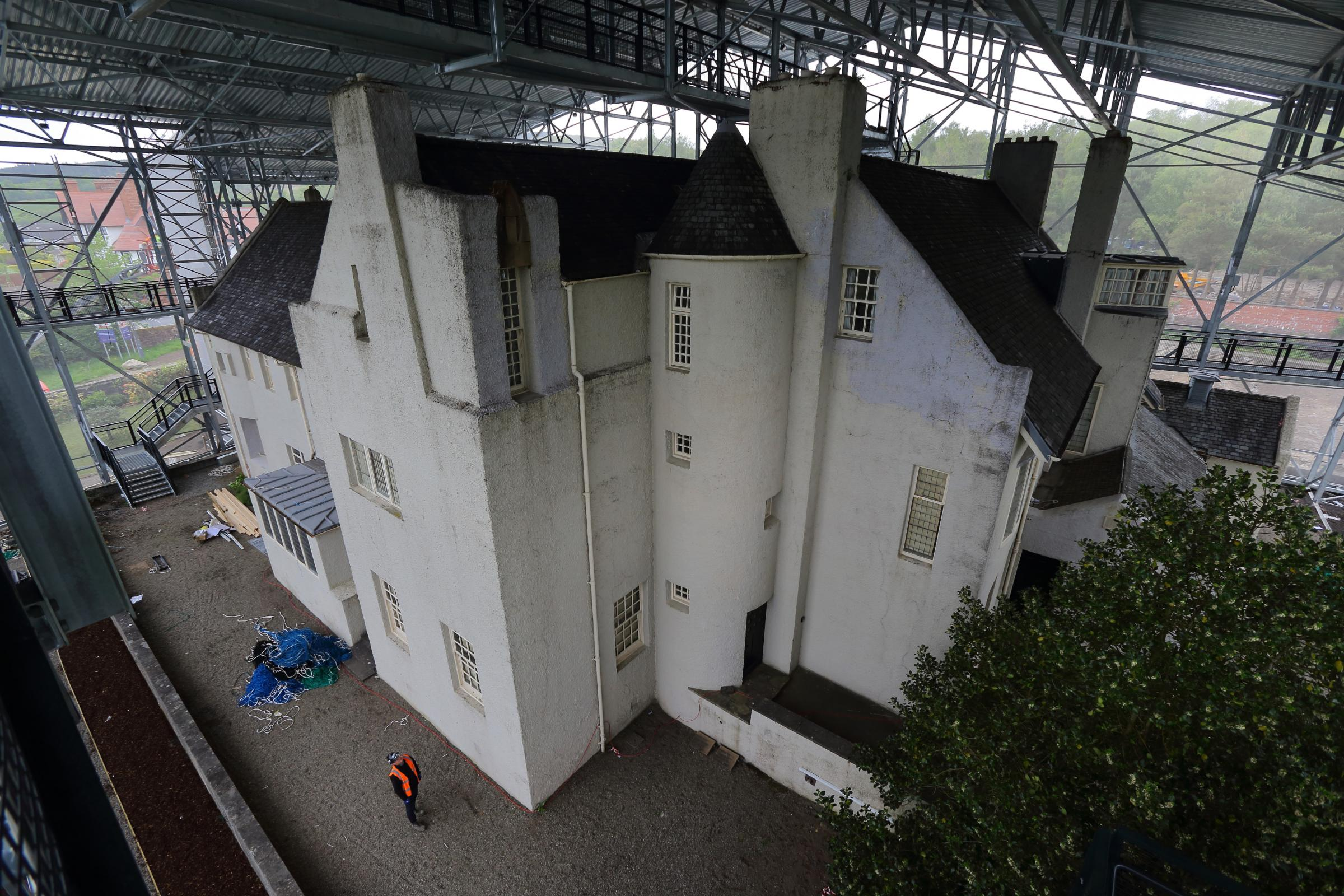 Hill House: Mackintosh's domestic masterpiece to reopen to public in a 'box'