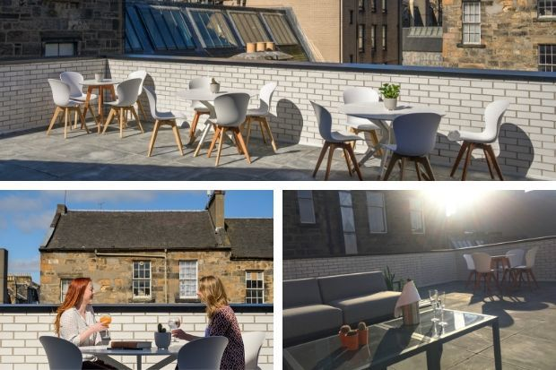Mackintosh at the Willow roof terrace launched for summer