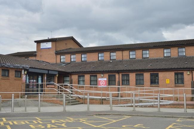 General view of Castlemilk Health centre .