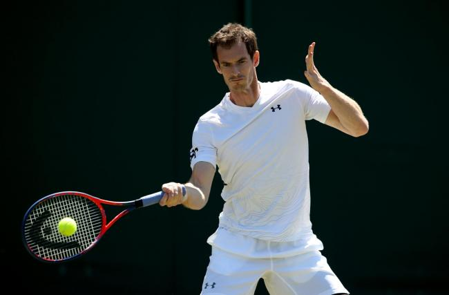 File photo dated 30-06-2018 of Andy Murray. PRESS ASSOCIATION Photo. Issue date: Tuesday June 4, 2019. Andy Murray will make his competitive return to the court in doubles at the Fever-Tree Championships at Queen s Club, Press Association Sport understan
