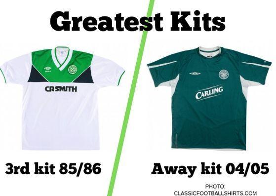 best authentic 241e0 e6d34 Greatest Kits | Celtic: 85/86 v 04/05 | Evening Times