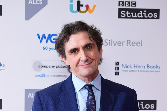 Stephen McGann on the red carpet