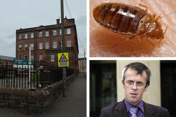 Bedbug reinfestation at Glasgow school 'highly likely'