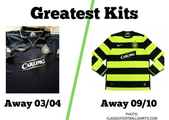 best website 0aaa6 52f35 Greatest Kits | Celtic: 03/04 v 09/10 | Evening Times