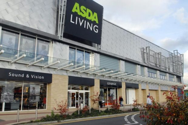 Asda share price in pounds