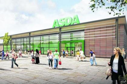 Web caption An artist's impression of how the new store would look