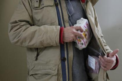 A number of shoplifting offences are down to hungry people stealing food, say police