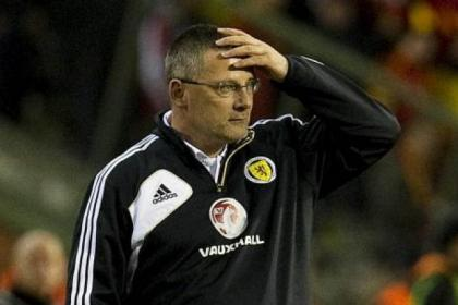 Craig Levein's hopes of guiding Scotland to Rio were killed off last night