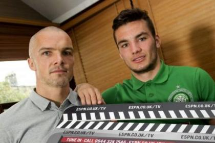 Tony Watt joined St Mirren captain Jim Goodwin ahead of their meeting in Paisley on Saturday lunchtime