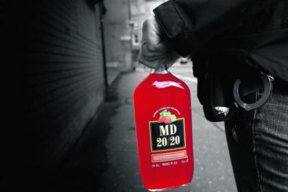 Underage 'operatives' were able to purchase drinks like the popular MD 20/20 during police 'sting' operations