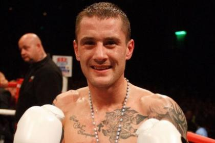 Ricky Burns will be hoping to be celebrating after his fight with Liam Walsh as he was after beating Kevin Mitchell last month