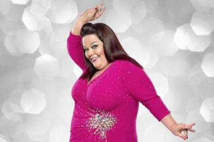 Actress Lisa Riley is a big hit on Strictly Come Dancing -- but why is her weight the main topic of discussion?