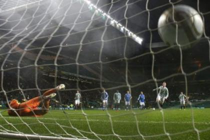 Kris Commons' penalty hits the back of the net for his second goal