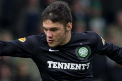 Tony Watt could lead Celtic's attack at Tannadice on Sunday