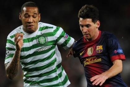 Lionel Messi is sure to keep Kelvin Wilson and other Celtic defenders on their toes