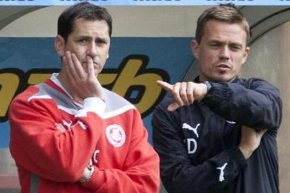 Jackie McNamara and Simon Donnelly will have Thistle fired up for cup