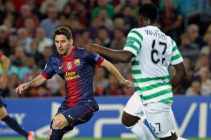 Lionel Messi will face up to Victor Wanyama again