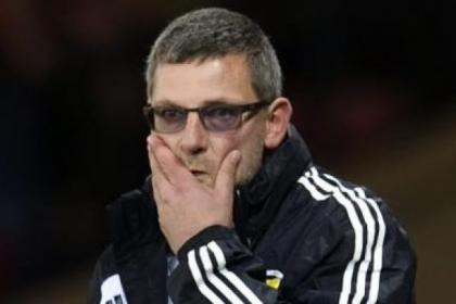 Craig Levein won only three games from 12 competitve matches in charge