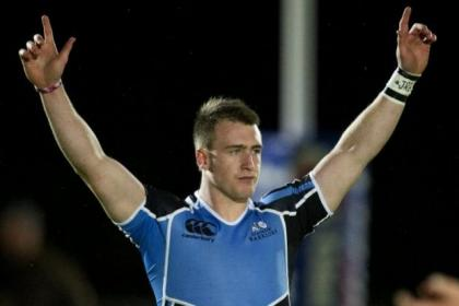 Warriors' ace Stuart Hogg relishes the big occasion