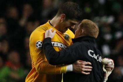 Goalkeeper Fraser Forster was Celtic's top man in victory over Barcelona