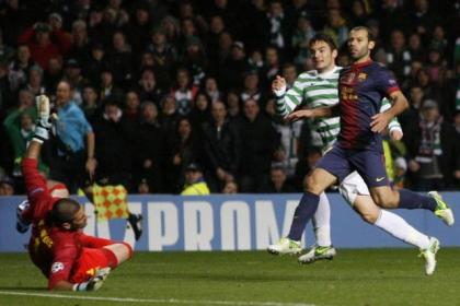 Tony Watt pulls the trigger to send Celtic two ahead