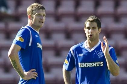 Rangers defenders Dorin Goian and Carlos Bocanegra are out on loan