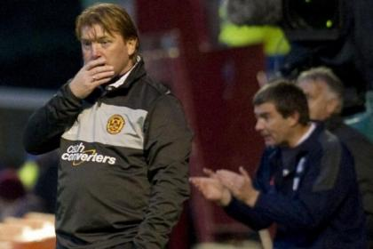 McCall's men failed to get the the better of Barry Smith's Dundee