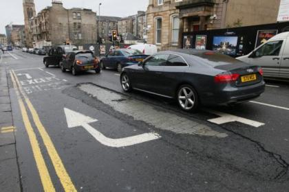 Pothole on Bath Street could be in the running for Glasgow's biggest