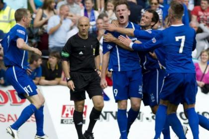 Rangers struggled at Peterhead on the first day of the season