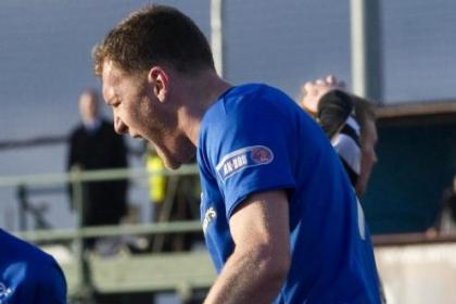 Kevin Kyle netted his first goal in a Rangers shirt at Ochilview Park