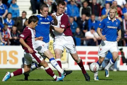 Ian Black and Kevin Kyle played together at Hearts