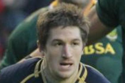 Glasgow's Henry Pyrgos scored a try in Scotland's defeat to South Africa