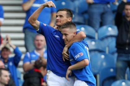 Lee McCulloch is the club's leading scorer this term